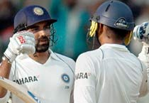B'lore Test: Late onslaught saves India