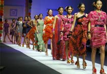 Preeti Chandra's colletion at Delhi Fashion Week
