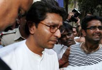 Raj Thackeray returns home