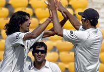 Nagpur Test: India hold the edge
