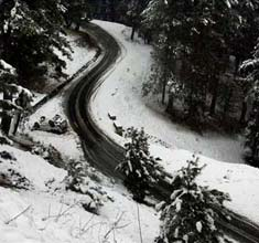 Gulmarg receives season's first snowfall