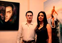 Nawab Modi Singhania's debut art exhibition