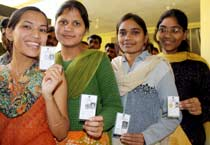 60 per cent turnout in MP polls