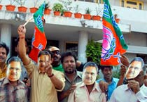 BJP celebrates victory in Chhattisgarh