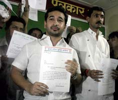 Nitesh Rane quits Youth Congress