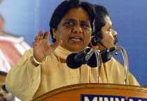 Mayawati holds rally in Chennai