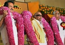 Karunanidhi elelcted DMK chief again