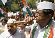 Congress in celebratory mode in Delhi