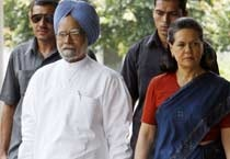 UPA elects Sonia as chairperson again