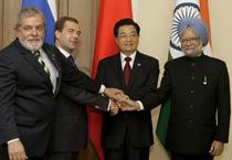 Leaders meet at BRIC summit