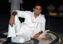 Sachin Pilot spends night in Nimeda village