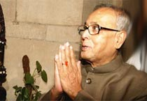 Pranab Mukherjee assumes new office