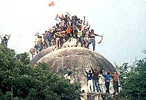 Flashback: Babri Masjid demolition