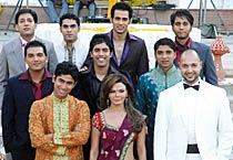 Rakhi & her 16 men!