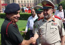 Afghan Army chief visits India