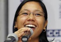 Agatha Sangma at YFLO meet