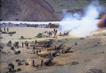 Scenes from the Kargil war