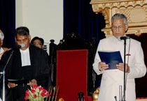 BL Joshi sworn in as UP governor