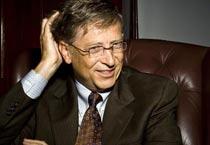Different moods of Bill Gates