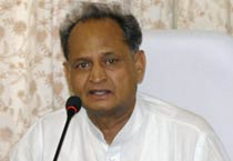 Ashok Gehlot addresses media