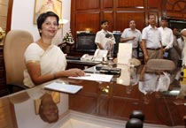 Rao takes charge as foreign secy