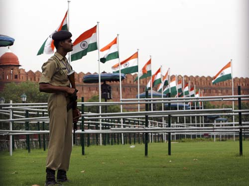 Security tightened for I-Day