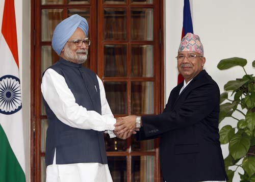 Nepal prime minister in India