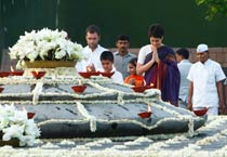 Nation remembers Rajiv on his birth anniversary