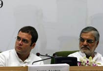 Rahul as guest at NREGA workshop