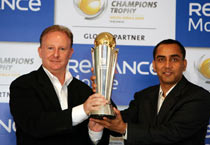 ICC Champions trophy unveiled