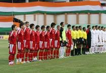 Nehru Cup: Syria Vs Kyrgystan