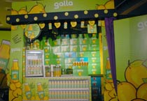 Launch of Galla fruit drink