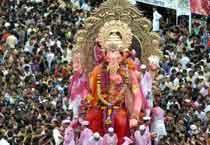 Mumbai bids adieu to Ganesha