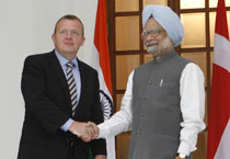 Denmark PM visits India