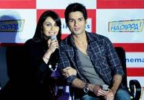 Shahid, Rani say <em>Hadippa</em>