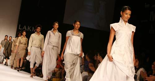 Arjun's show at LFW 2009