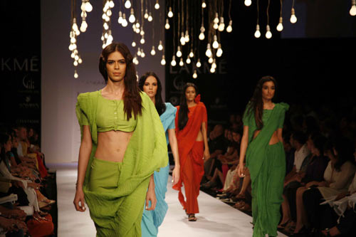 LFW '09: Anamika Khanna collection