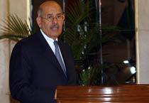 Dr. ElBaradei receives Indira Gandhi Award