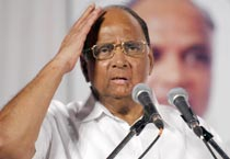 Sharad Pawar campaigns in Thane