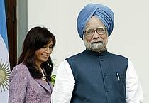 Argentine prez on India visit