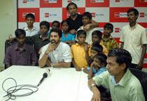 Singer Krish celebrates Deepavali