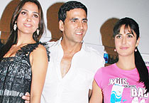 Akshay, Kat, Lara say <em>Blue</em>