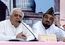 Sibal, Bukhari address media
