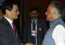 Indo-China workshop on climate change