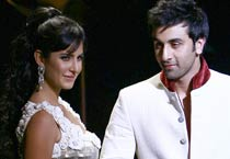 Kat, Ranbir walk ramp for Rohit Bal
