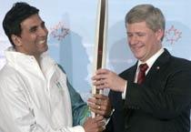 Olympic honour for Akshay