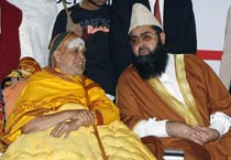 Shankaracharya and Imam in conference