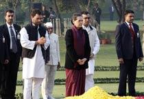 Leaders pay tribute to Indira Gandhi