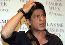 SRK on ramp for Manish Malhotra!