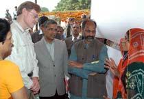 World Bank chief visits India
